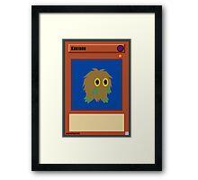 Kuriboh Framed Print
