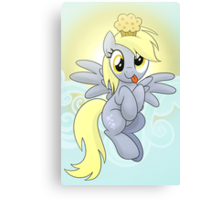 Derpy Phone Case Canvas Print