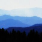 Smokey Mountain Twilight by Karen Stevens