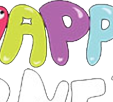 2NE1 Happy Sticker