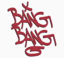 Bang Bang typography Kids Clothes