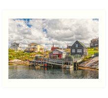 Wharf Hags Art Print