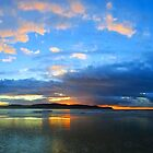 Central Coast Sunrise Panorama by George Petrovsky