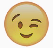 Wink Emoji by Chloe Hebert