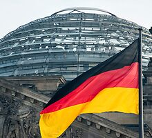 German flag by photoeverywhere