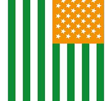 US Flag Ireland by viixiigfl