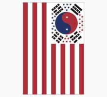 US Flag Korea Kids Clothes