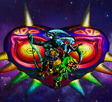 majora mural  by TheMrBflo