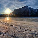 Mount Michener and the Sunburst by JamesA1