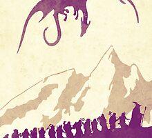 The Hobbit by Watercolorsart