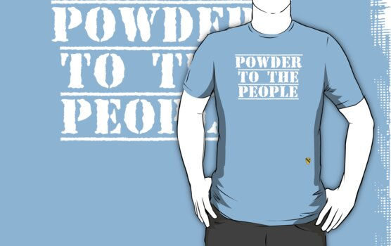 Powder to the people - Rave Veteran by Tim Topping