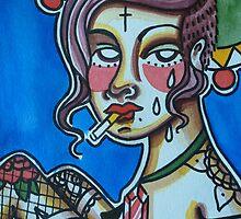 Cigarette Punk by alexxmacnair