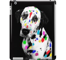 Multi-coloured Dalmatian iPad Case/Skin