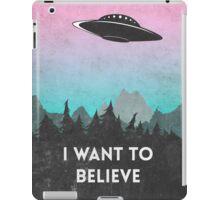 I want to believe UFO1 iPad Case/Skin