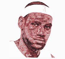 Lebron James typography by EversonInd