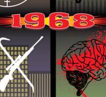 1968 Survival Zombie Crest Sticker