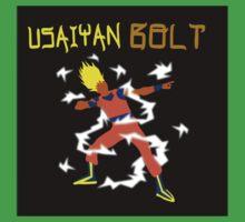 Usaiyan Bolt  (Dragon Ball Z) by counteraction
