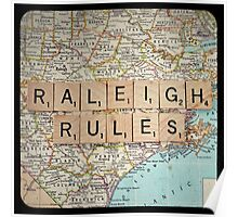 Raleigh Rules Poster