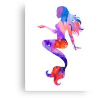 Beautiful Mermaid Canvas Print