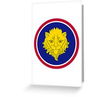 106th Infantry Division Greeting Card