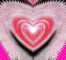 Shimmer Heart by Irfan Gillani