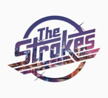The Strokes Logo New York Night by gakest
