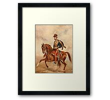 Lieutenant Colonel James Thomas Brudenell (1797-1868) 7th Earl of Cardigan Framed Print