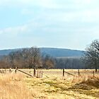 Country Mountain Scene by Susan S. Kline