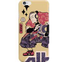 TURNTABLE SAMURAI iPhone Case/Skin