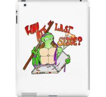 Who Ate the Last Slice? iPad Case/Skin