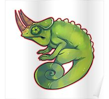 Jackson's Chameleon Poster