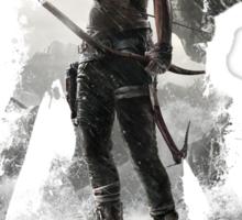 Tomb Raider - Survivor is Born Sticker