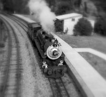 Steam Train in the Station. by jimrac