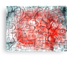 Mind of a Genius Canvas Print