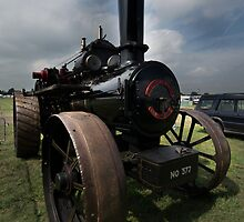 Steam Traction Engine by English Landscape Prints