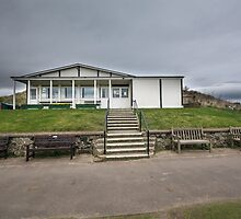 Bamburgh Cricket Pavillion by English Landscape Prints