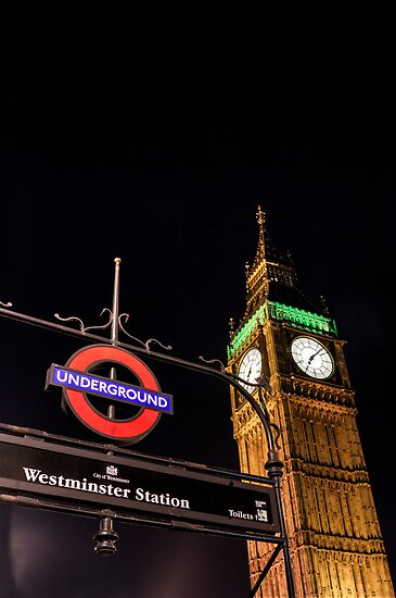 Big Ben from Westminster Station - London by eic10412