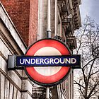 Underground Sign - London by eic10412