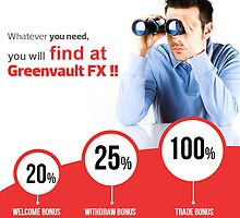 Forex Welcome Bonus - Greenvault FX by forex
