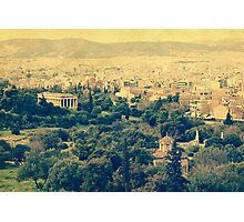 Athenian panorama Photographic Print