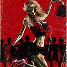 Zombie Cheerleader From Hell by simonbreeze