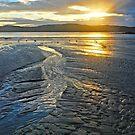 Sunrise Sand Patterns by George Petrovsky