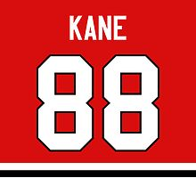 Chicago Blackhawks Patrick Kane Jersey Back Phone Case by Russ Jericho