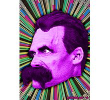 Nietzsche Burst 2 - by Rev. Shakes Photographic Print