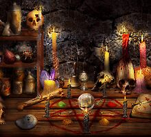 Alchemy - That old black magic by Mike  Savad