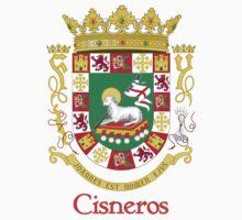 Cisneros Shield of Puerto Rico by William Martin