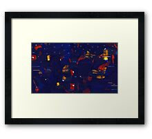 City Night Framed Print