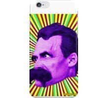 Nietzsche Burst 5 - by Rev. Shakes iPhone Case/Skin