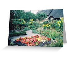 Classic British Garden and Architecture, United Kingdom Greeting Card