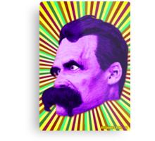 Nietzsche Burst 5 - by Rev. Shakes Metal Print